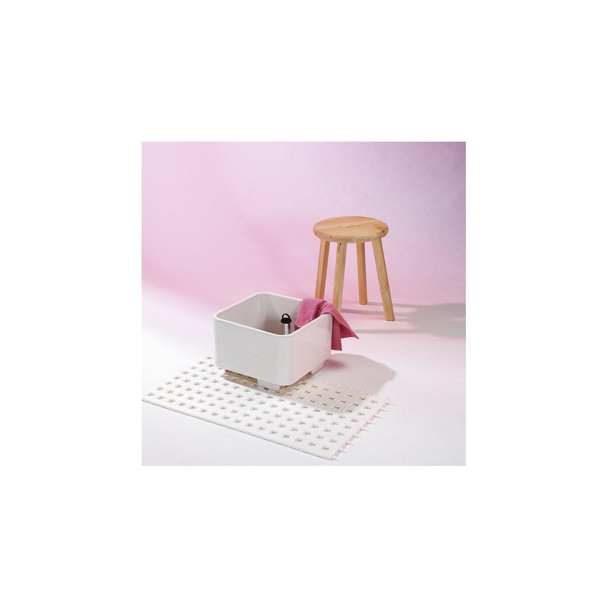 fu becken keramik eckig 436 50. Black Bedroom Furniture Sets. Home Design Ideas
