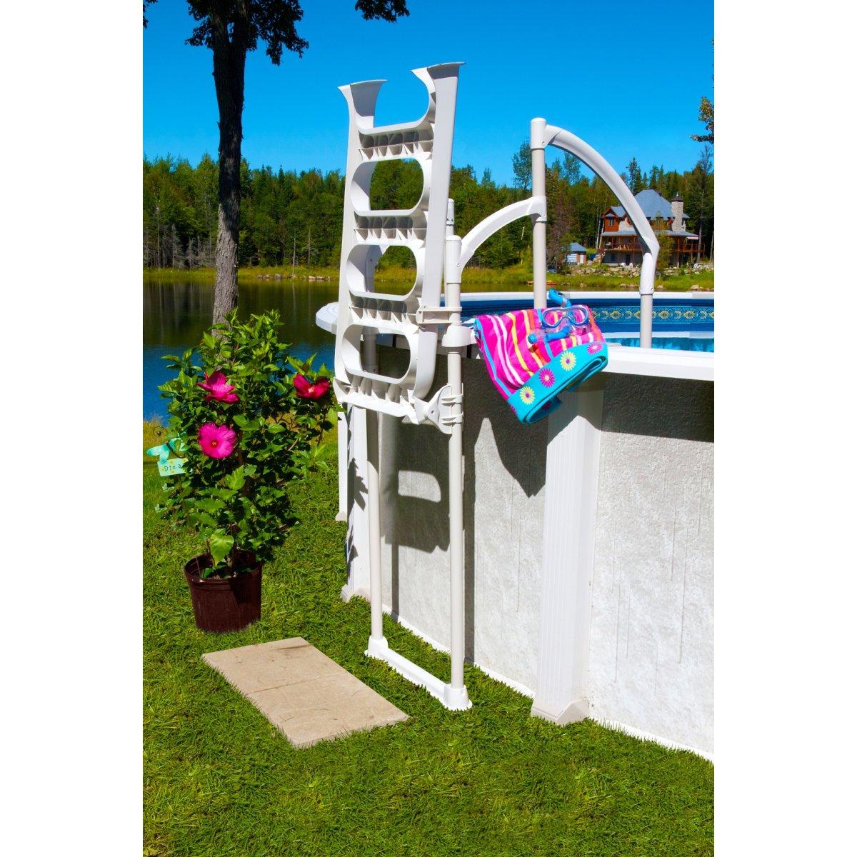 Pooltreppe fiesta 499 00 for Poolfolien hersteller