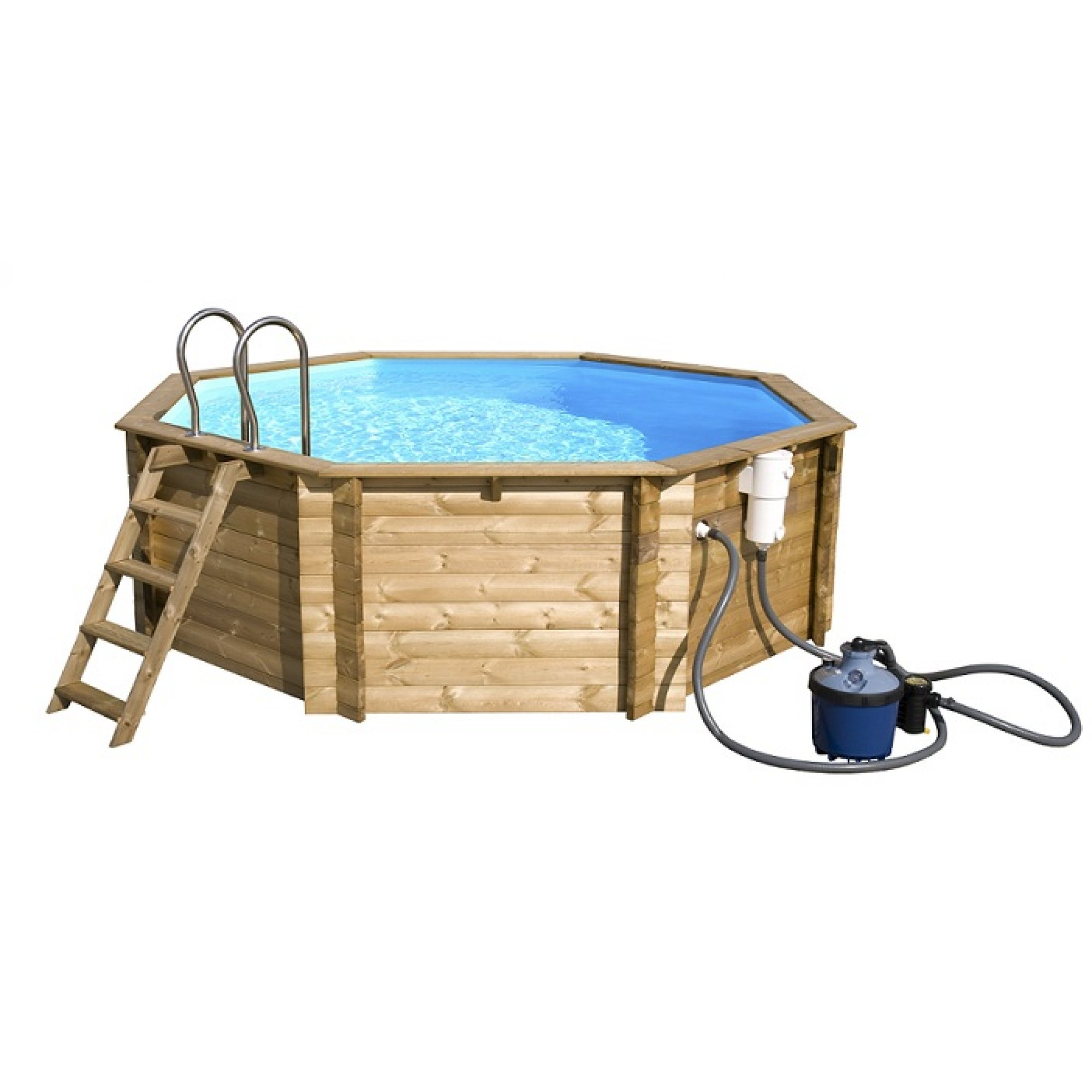 Holzpool tropic octo und octo for Piscine tropic octo 414
