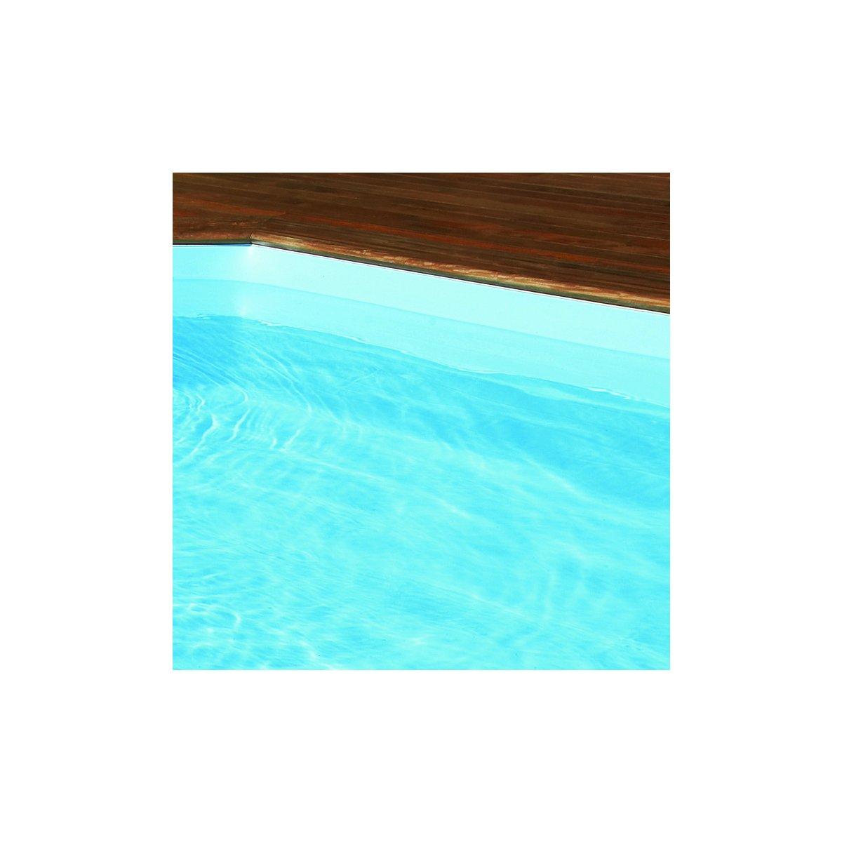 Poolfolie wellpool24 classic hellblau 13 50 for Poolfolie farbe
