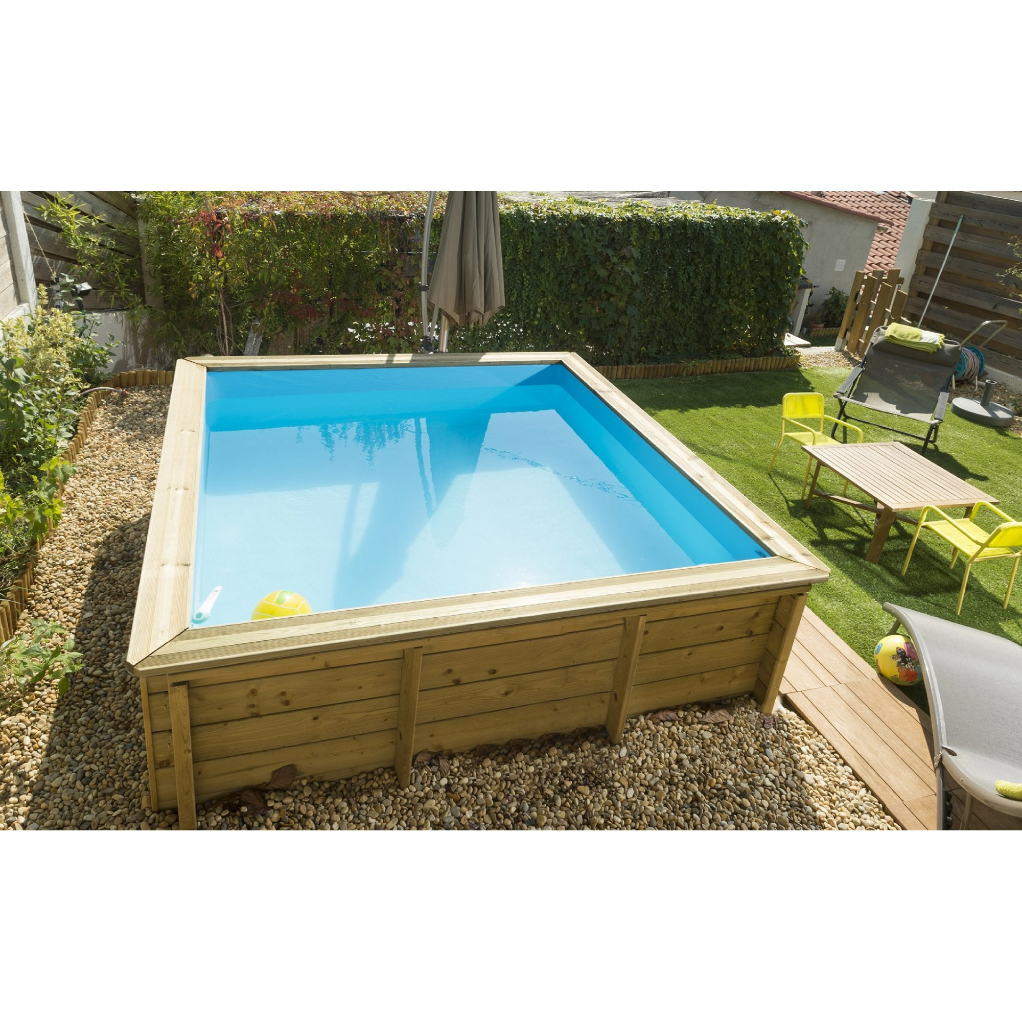 Mini holzpool f r jeden garten 679 00 for Mini piscine bois enterree