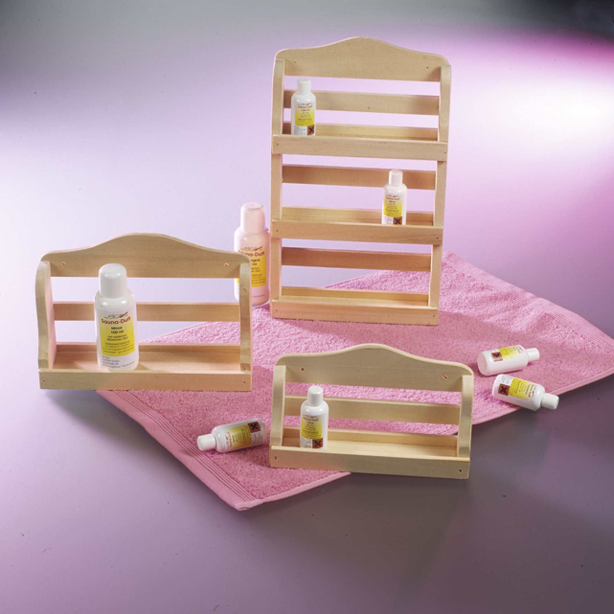 wandregal aus holz natur breite 21 cm 6 50. Black Bedroom Furniture Sets. Home Design Ideas