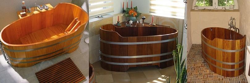 Traumbadewannen aus Holz für Ihr Bad