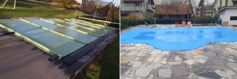 Winterabdeckungen für Ihren Pool