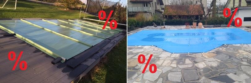 Winterabdeckungen für Ihren Pool jetzt reduziert